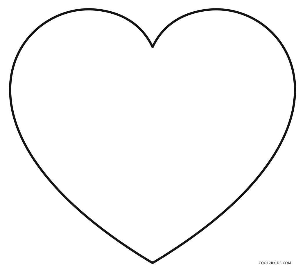 coloring heart for kids free printable heart coloring pages for kids coloring for kids heart 1 1