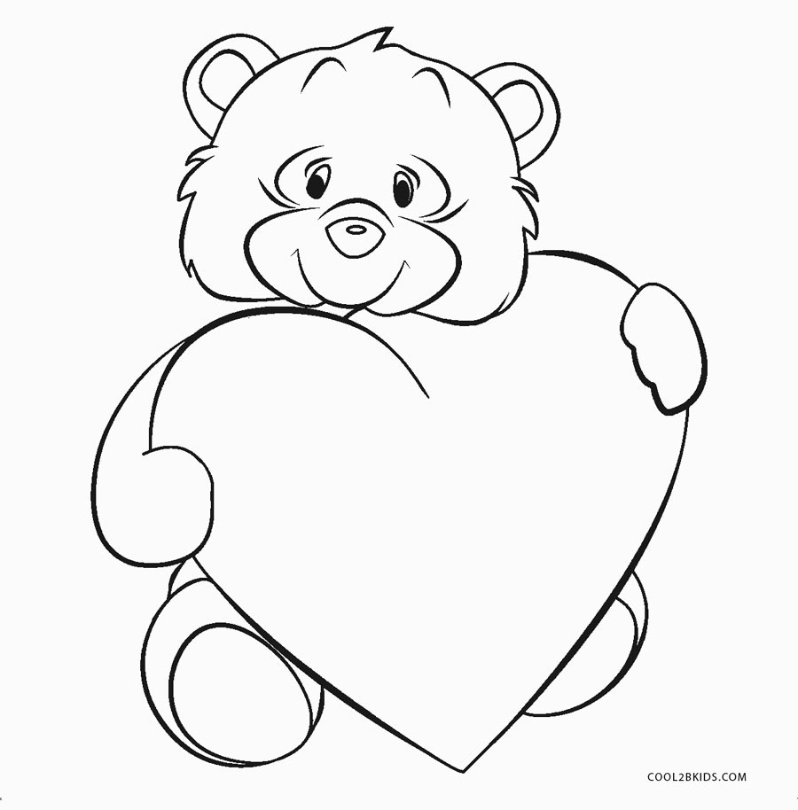 coloring heart for kids free printable heart coloring pages for kids kids for coloring heart