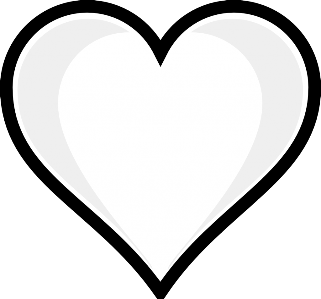 coloring heart for kids heart eyes emoji coloring pages at getdrawings free download for coloring kids heart