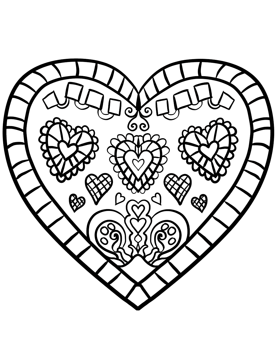 coloring heart for kids hearts coloring pages for adults best coloring pages for heart kids for coloring