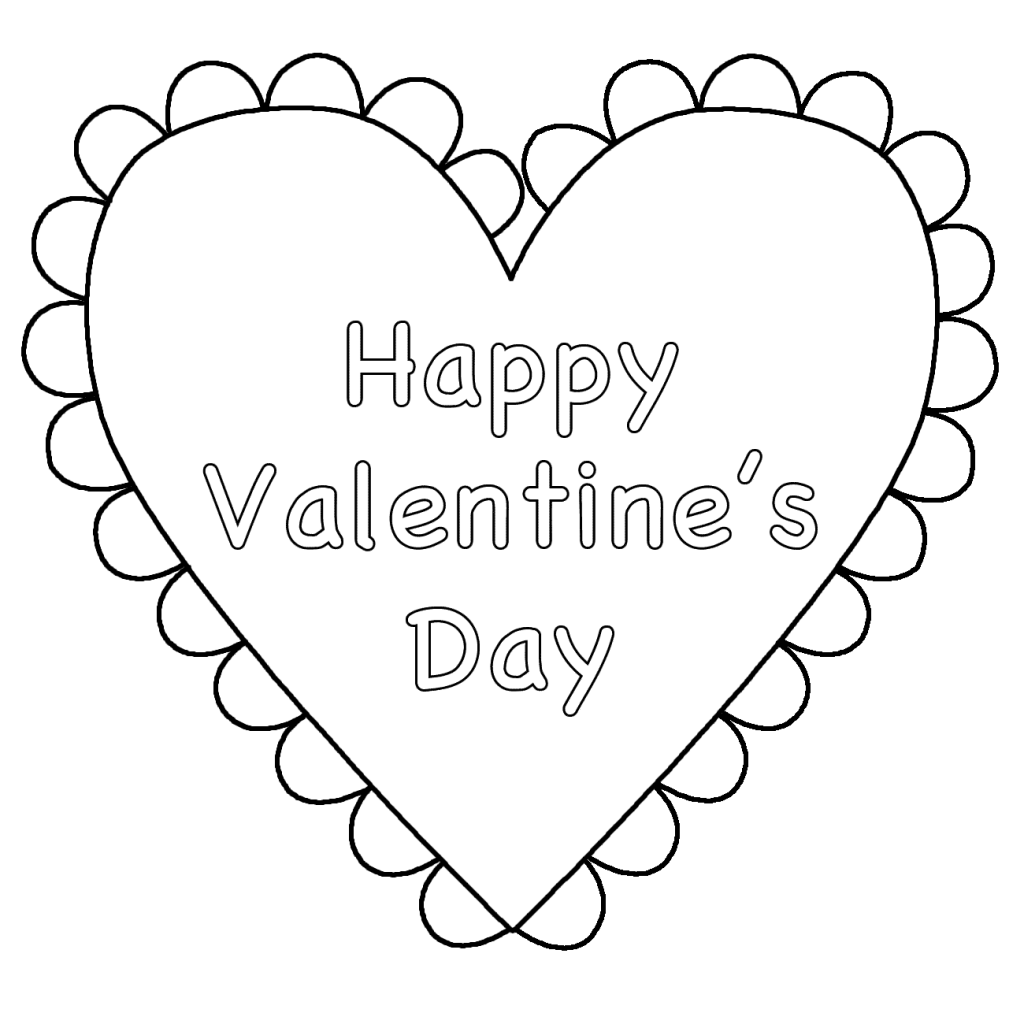 coloring heart for kids valentine heart coloring pages best coloring pages for kids heart for coloring kids