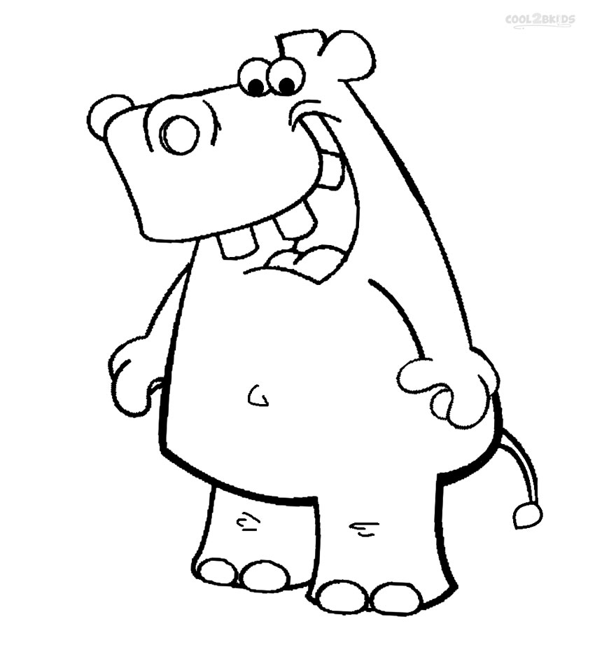 coloring hippo clipart hippo images for kids clipartsco hippo coloring clipart