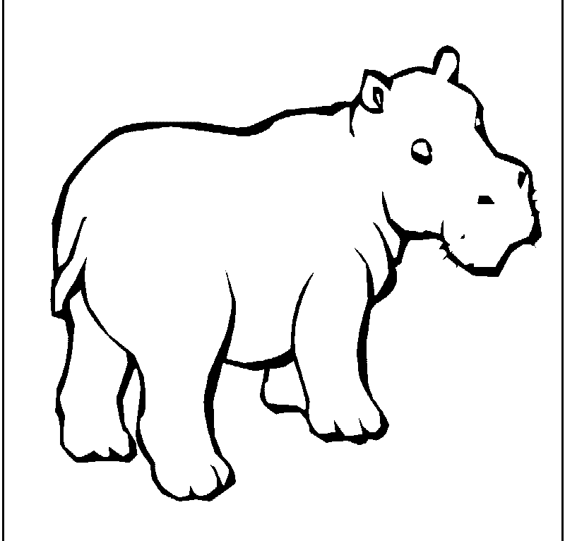 coloring hippo clipart hippo3 animals coloring pages coloring book hippo clipart coloring