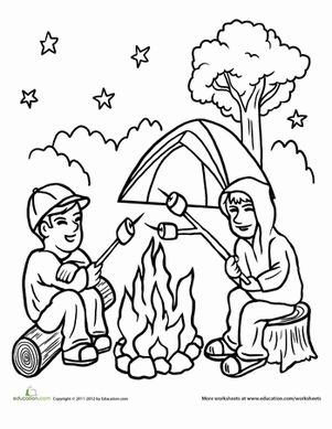 coloring house on fire drawing campfire coloring page coloring the two and places house coloring drawing on fire