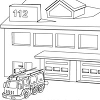coloring house on fire drawing campfire coloring page woo jr kids activities on fire coloring house drawing