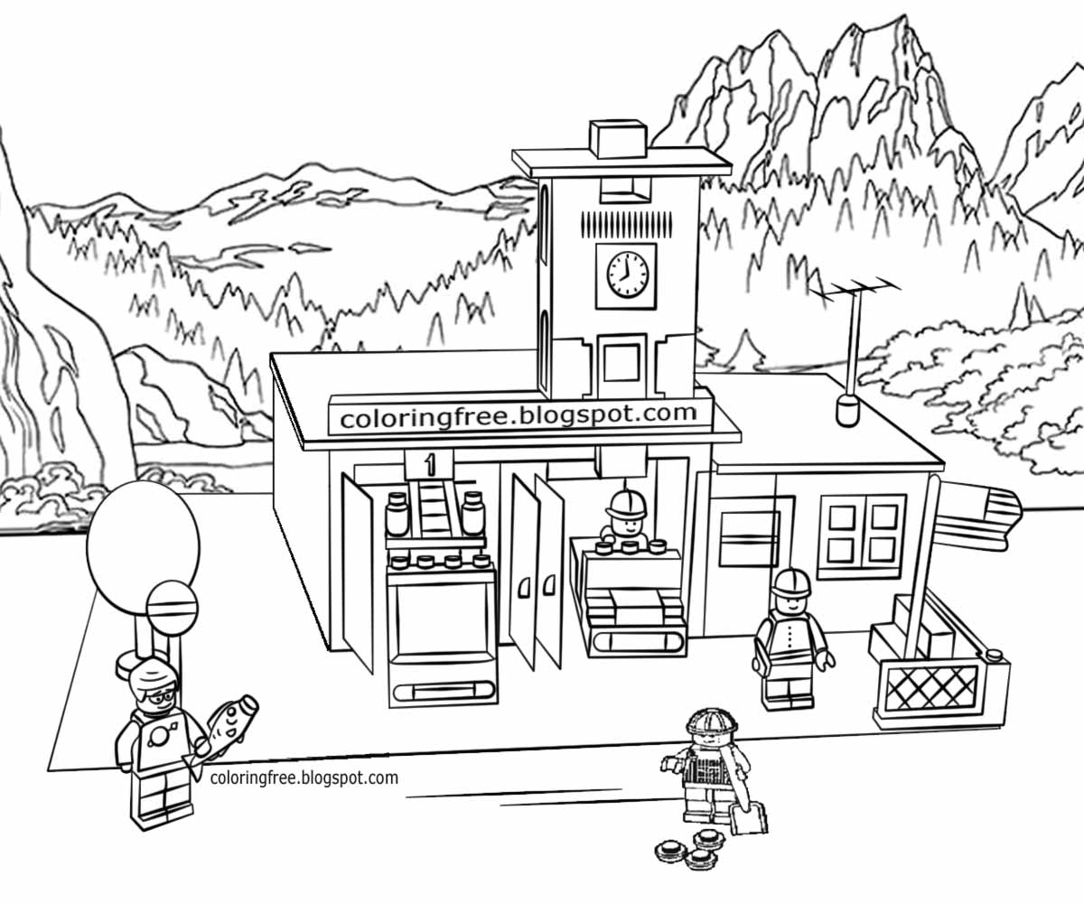 coloring house on fire drawing fire department coloring page free printable coloring pages fire house drawing on coloring