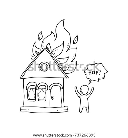 coloring house on fire drawing fire house coloring pages fire house coloring on drawing