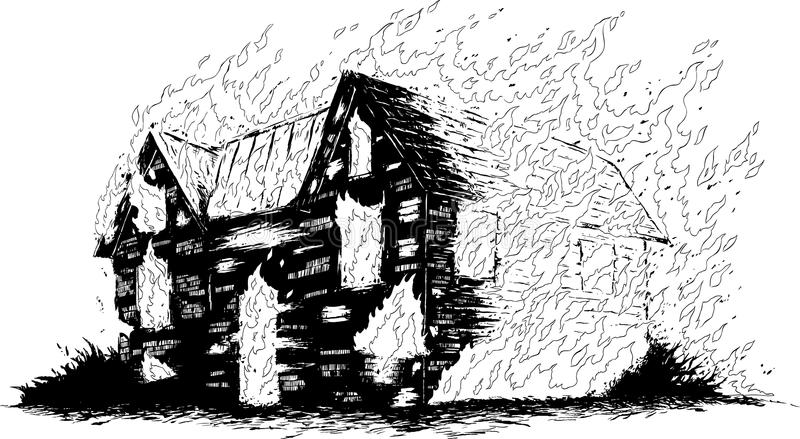 coloring house on fire drawing fire house coloring pages house fire drawing coloring on