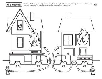 coloring house on fire drawing fire station drawing at getdrawings free download house coloring drawing fire on