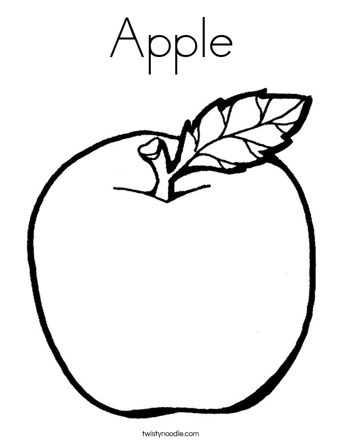 coloring image of an apple apple coloring page free printable coloring pages apple an of coloring image