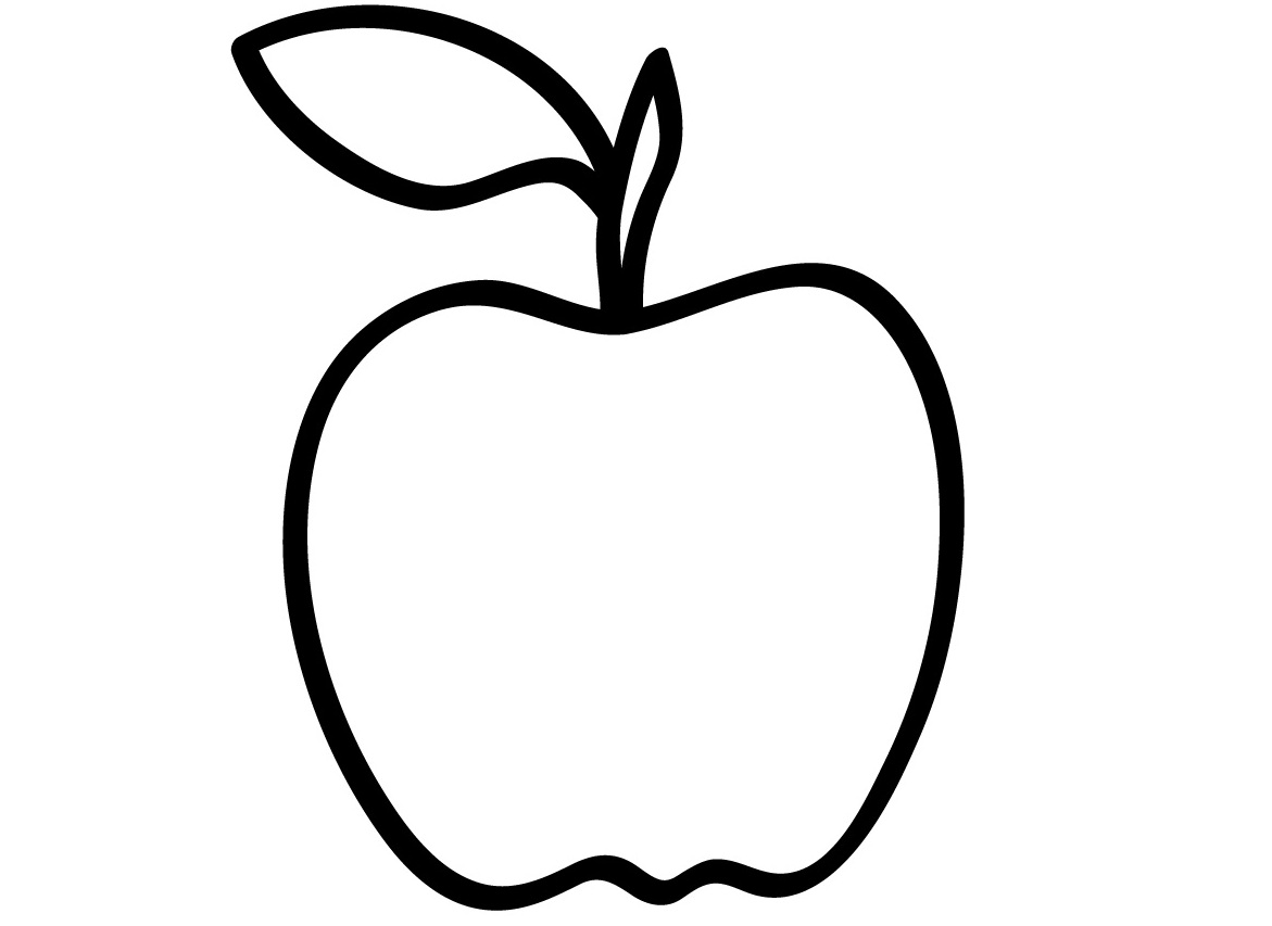 coloring image of an apple craftsactvities and worksheets for preschooltoddler and image apple coloring of an