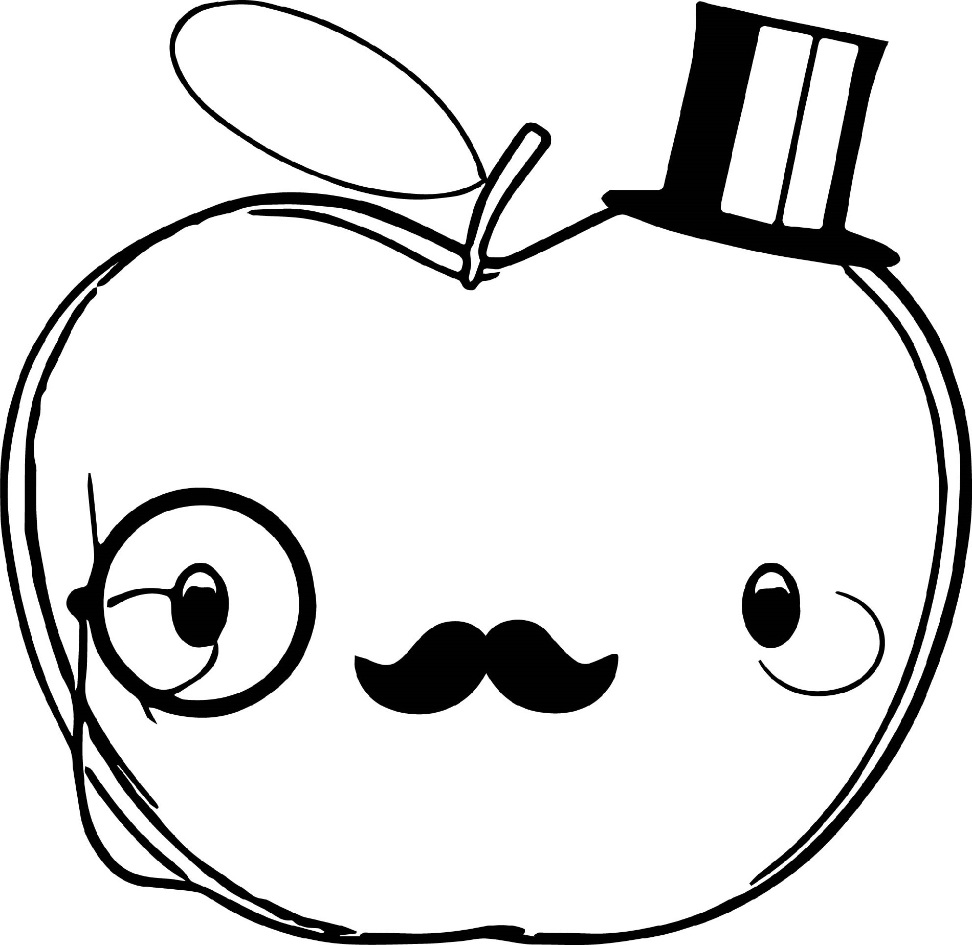 coloring image of an apple free apple tracing stencil apple clip art apple image of apple coloring an