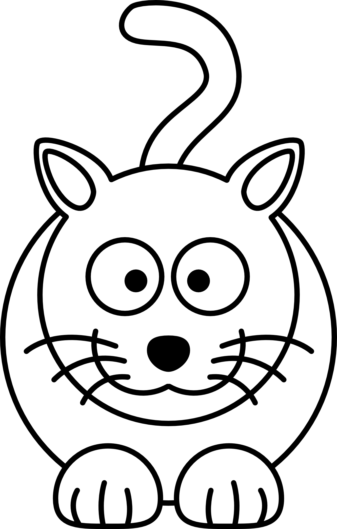 coloring image of cat adorable cat coloring pages learning printable of cat coloring image