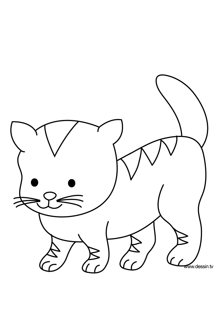 coloring image of cat coloring kitten coloring image cat of