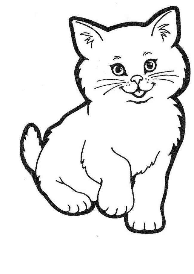 coloring image of cat free printable cat coloring pages for kids cat image coloring of