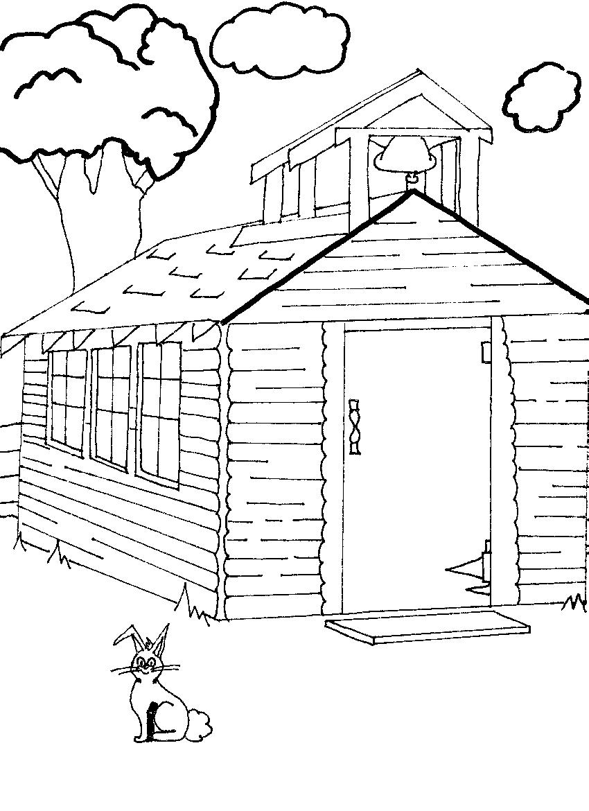 coloring image of house best house clipart coloring black white 29983 of coloring house image