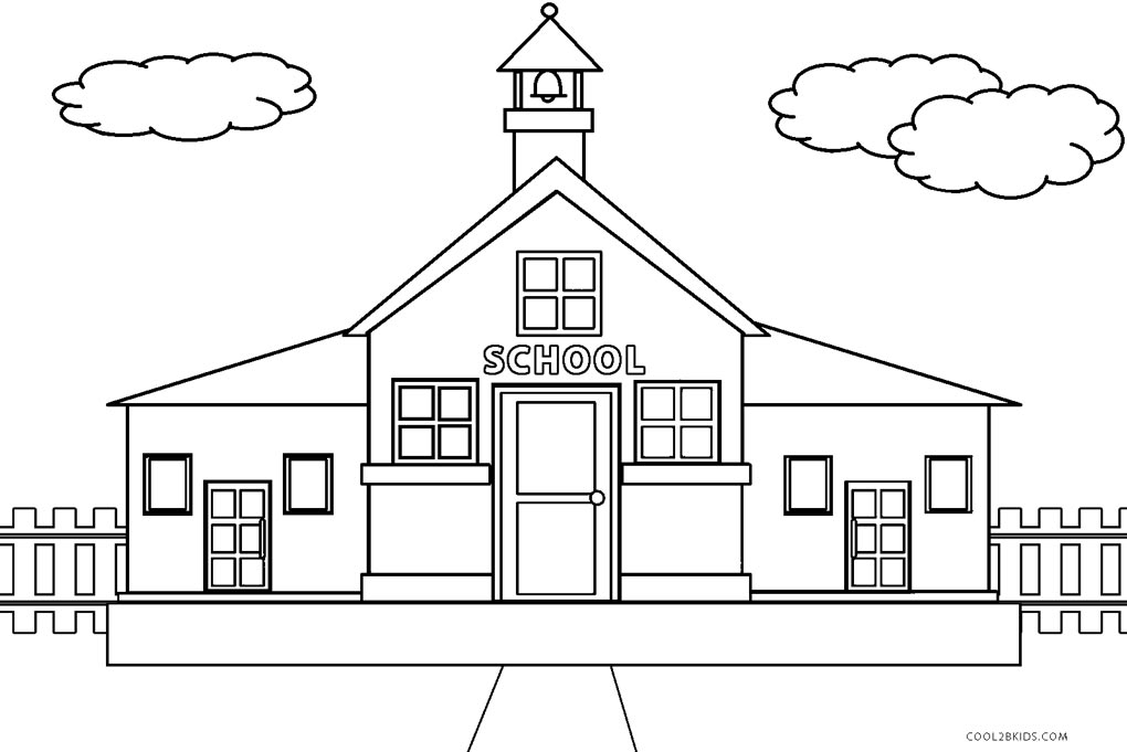 coloring image of house free printable house coloring pages for kids house image coloring of