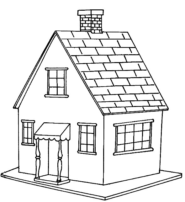 coloring image of house free printable house coloring pages for kids house image coloring of house