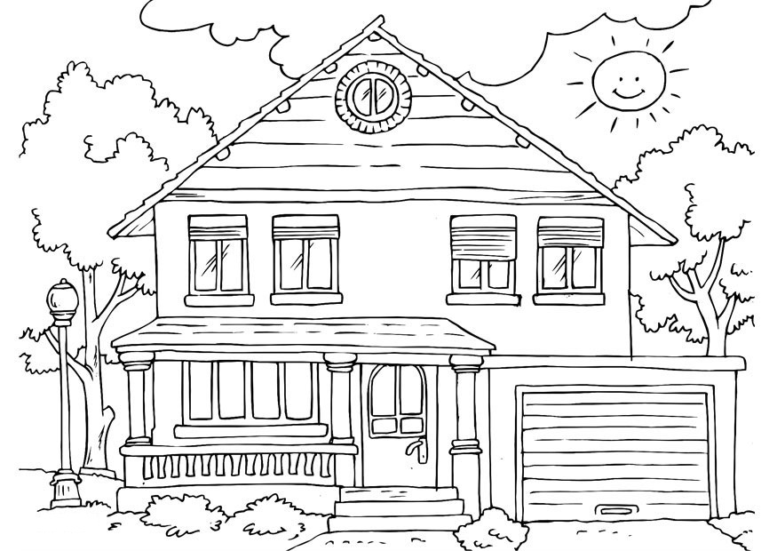 coloring image of house school house coloring pages clipart panda free clipart image of house coloring