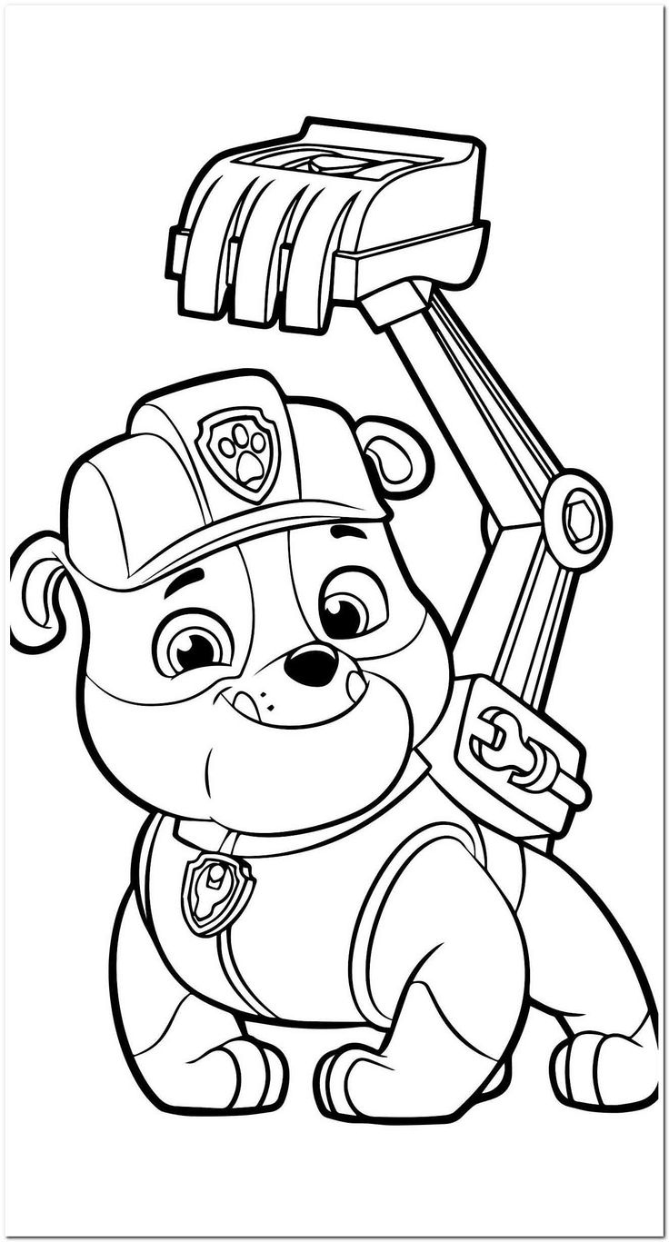 coloring image paw patrol 22 coloring pages colored pencile in 2020 paw patrol paw coloring patrol image