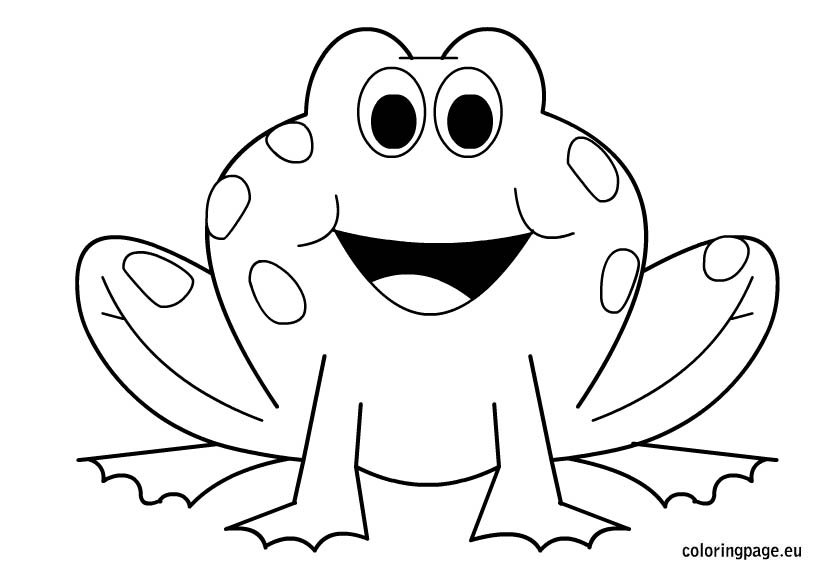 coloring images of frog frog color pages for children activity shelter of frog coloring images