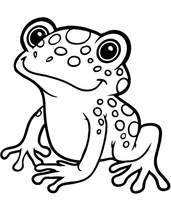 coloring images of frog frogs to print for free frogs kids coloring pages images coloring of frog