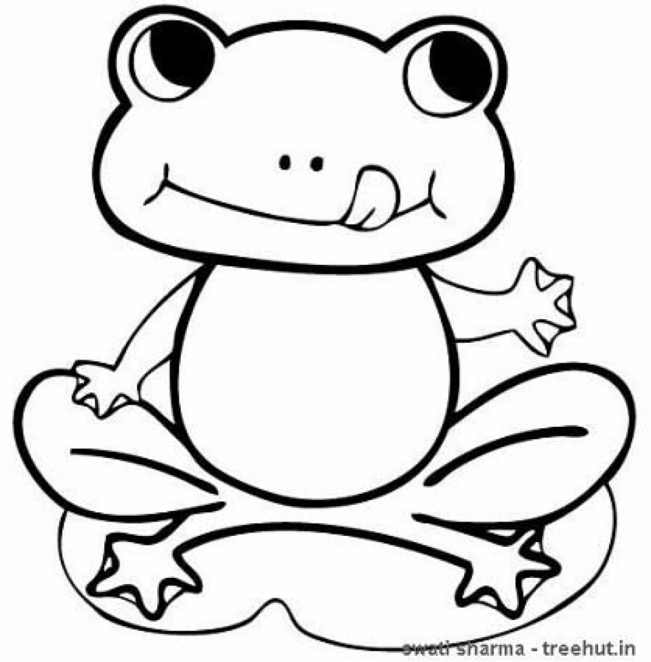 coloring images of frog printable frog coloring pages for kids free printable frog coloring images frog of