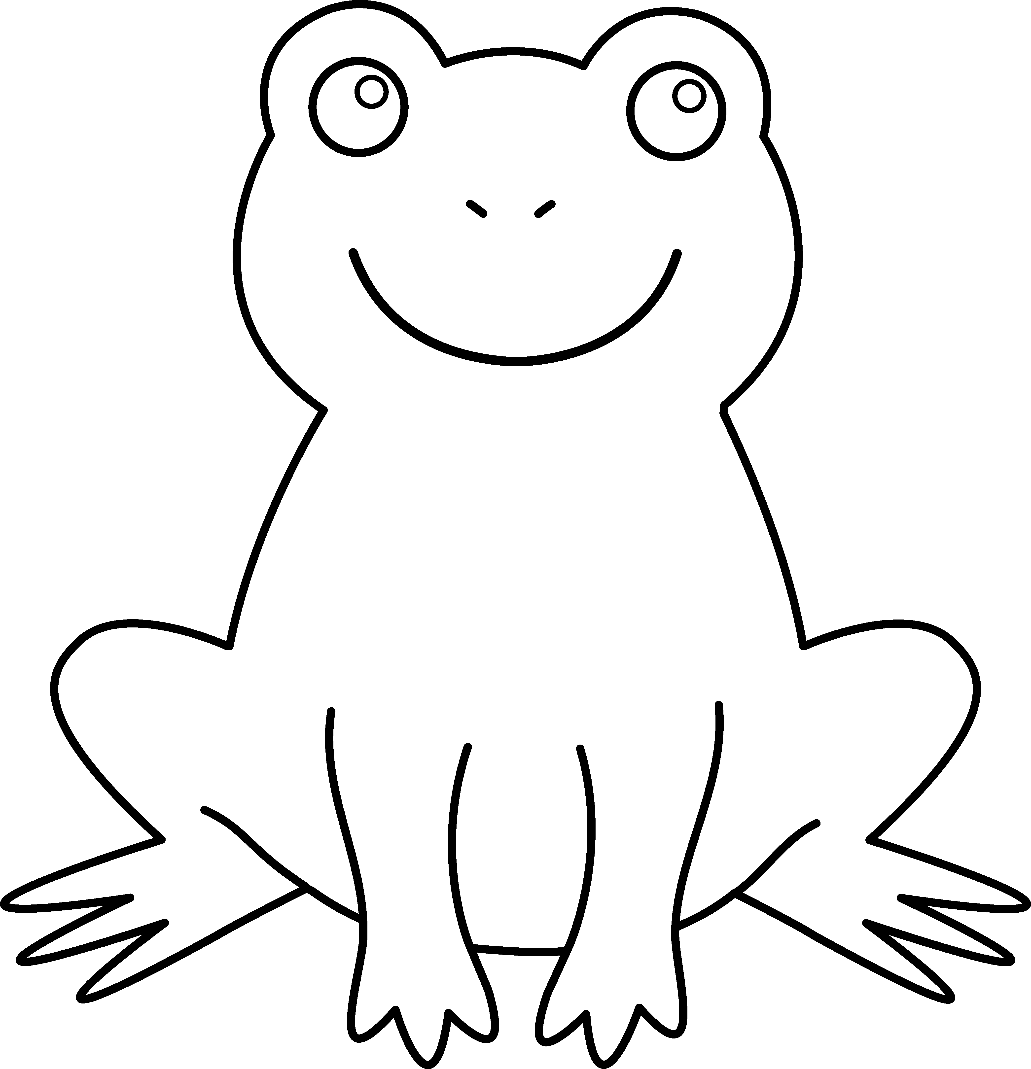 coloring images of frog realistic frog coloring pages free download on clipartmag frog coloring images of