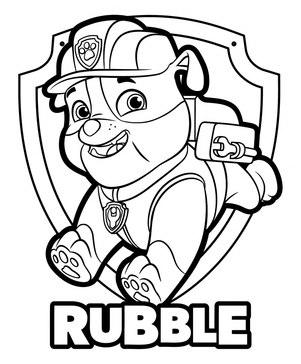 coloring images paw patrol 15 best paw patrol coloring pages visual arts ideas patrol paw coloring images
