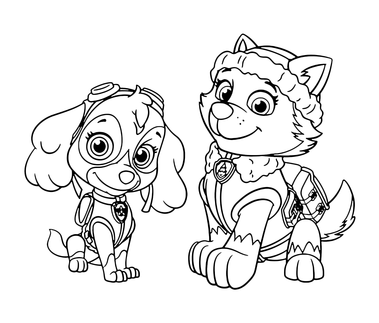 coloring images paw patrol coloring images paw patrol paw coloring images patrol