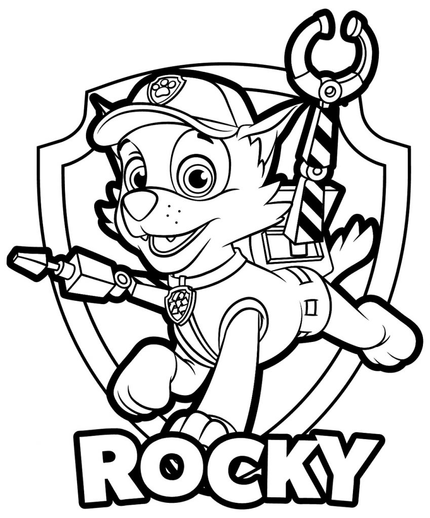 coloring images paw patrol paw patrol coloring pages free download on clipartmag images patrol paw coloring