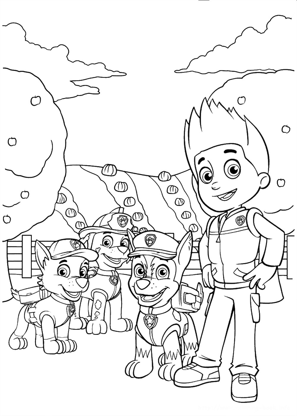 coloring images paw patrol paw patrol coloring pages printable free coloring sheets patrol images coloring paw