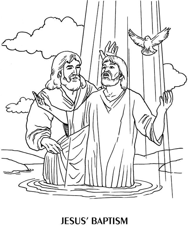 coloring jesus 339 best baptism of jesus images on pinterest coloring jesus coloring