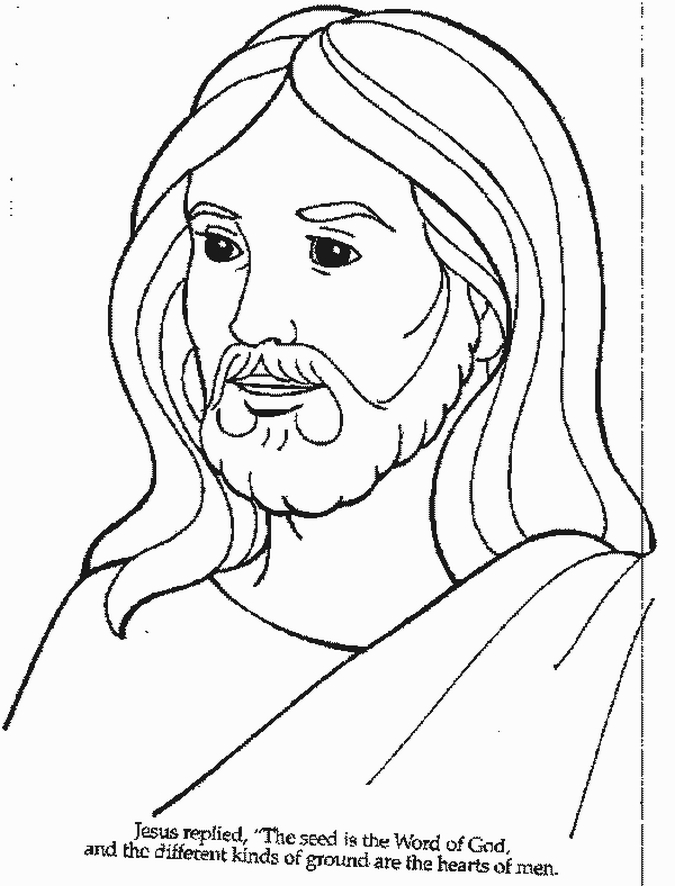 coloring jesus free printable jesus coloring pages for kids coloring jesus 1 1