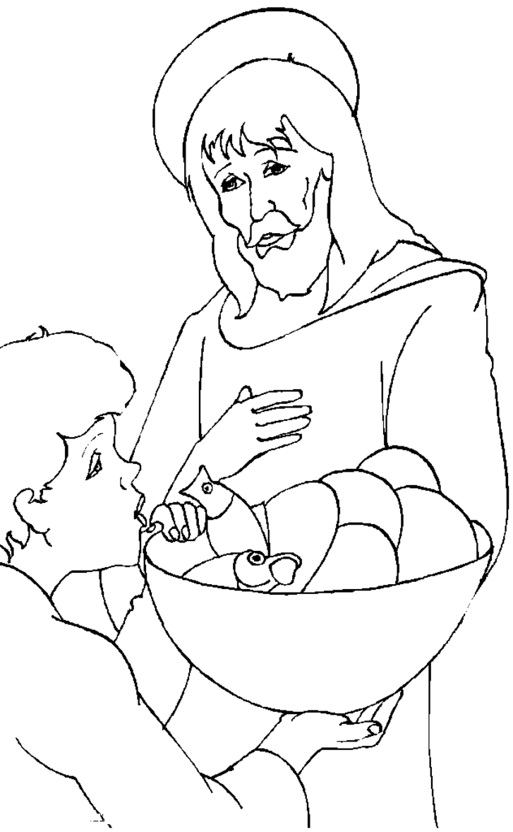 coloring jesus jesus with little children coloring page coloring home coloring jesus