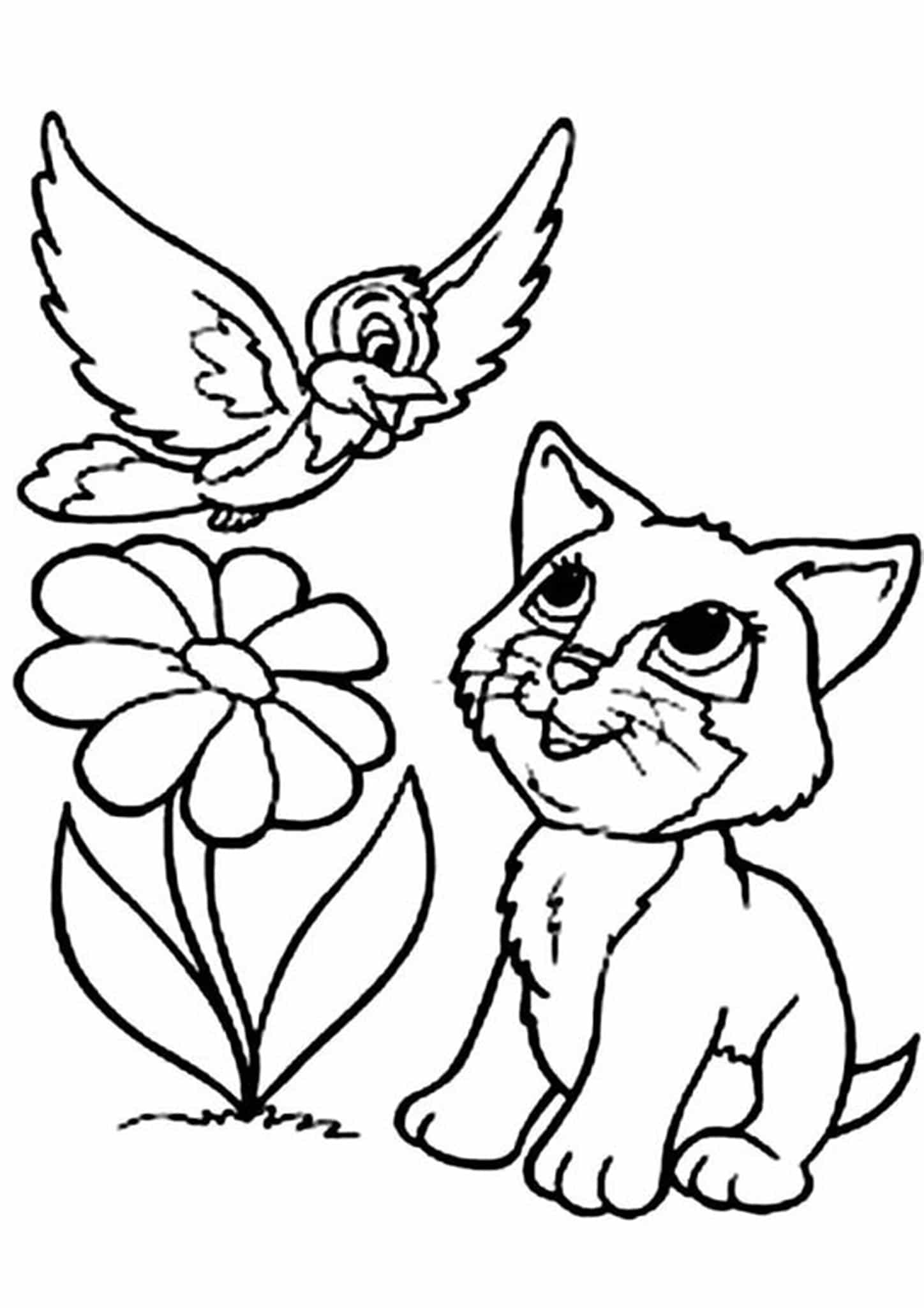 coloring kitty free easy to print kitten coloring pages tulamama coloring kitty