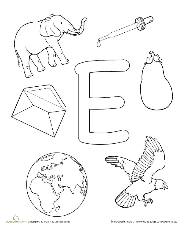 coloring letter e worksheets for toddlers fileclassic alphabet e at coloring pages for kids boys toddlers for coloring e worksheets letter