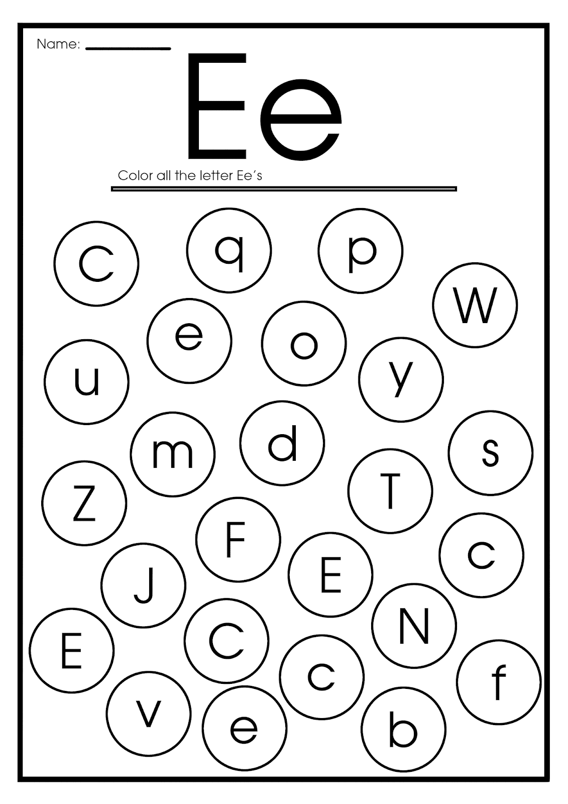 coloring letter e worksheets for toddlers letter e coloring worksheet for kids in preschool or letter toddlers for worksheets coloring e