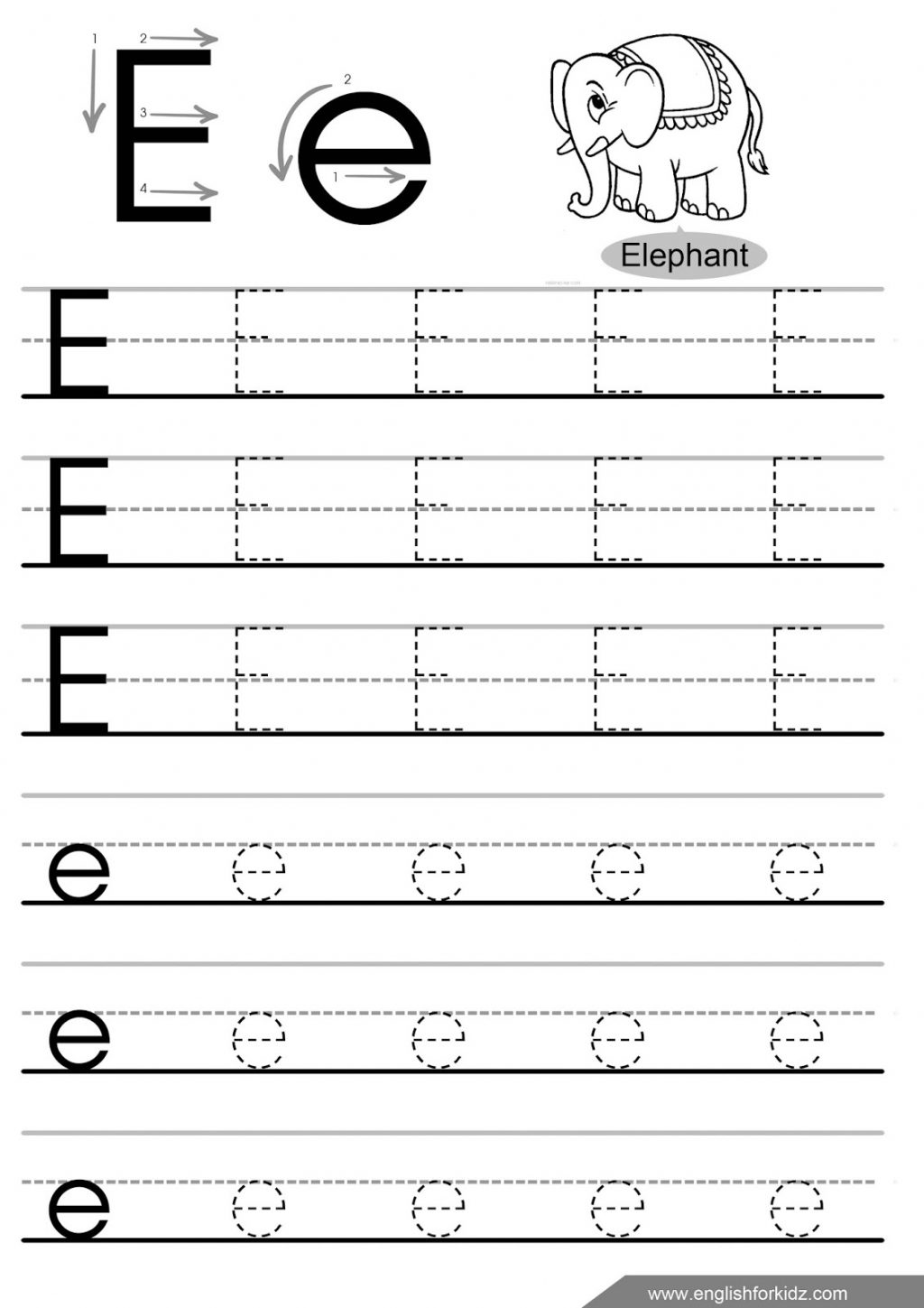 coloring letter e worksheets for toddlers writing az alphabet exercises game for kids writing letter e letter worksheets for coloring toddlers