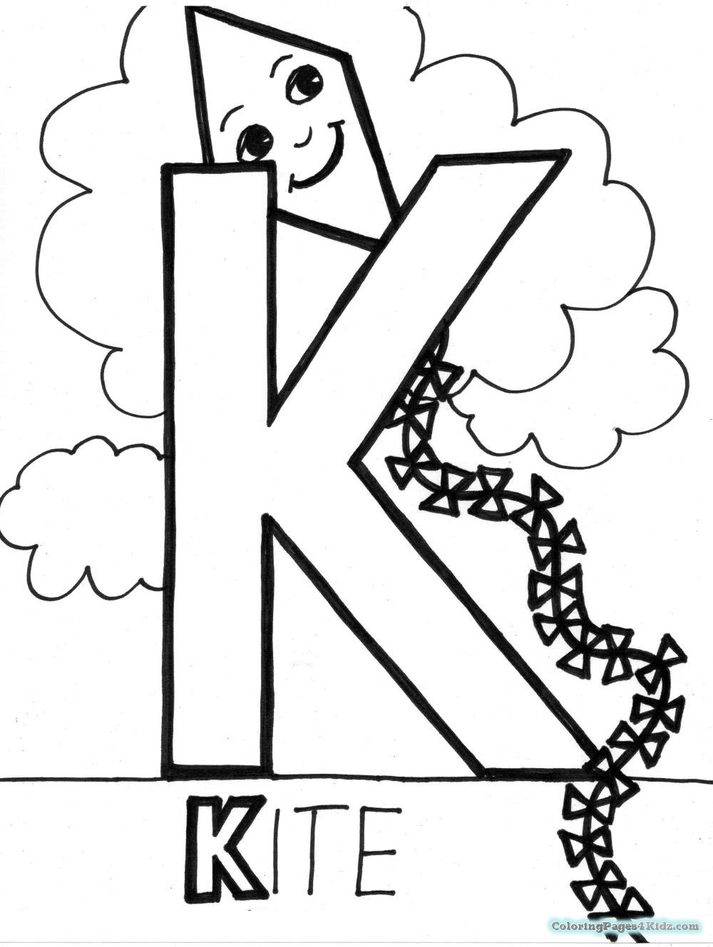 coloring letter k free letter k coloring pages for preschool preschool crafts coloring letter k