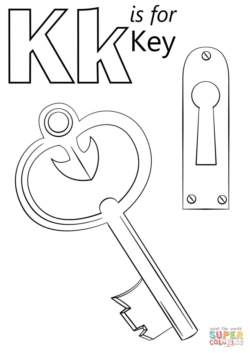 coloring letter k letter k detailed coloring pages get coloring pages k letter coloring