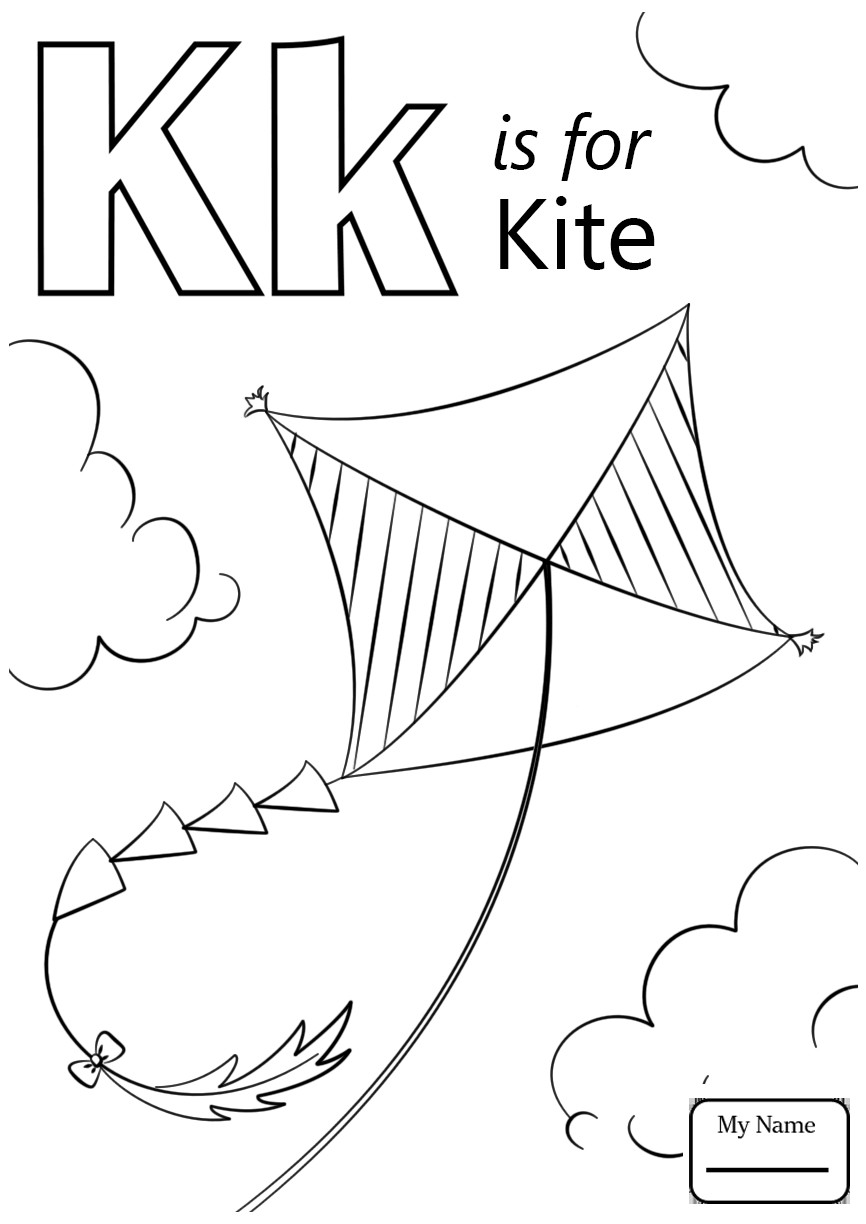 coloring letter k letter k drawing at getdrawings free download k coloring letter