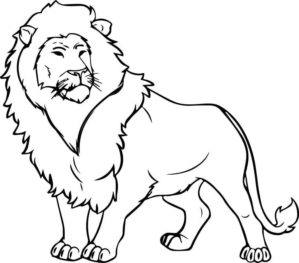coloring lion pages free printable lion coloring pages at getdrawings free pages coloring lion