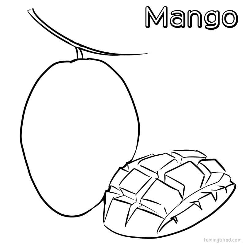 coloring mango template 10 best free printable mango coloring pages for toddlers coloring mango template