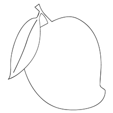 coloring mango template mango coloring pages to print coloring pages template coloring mango