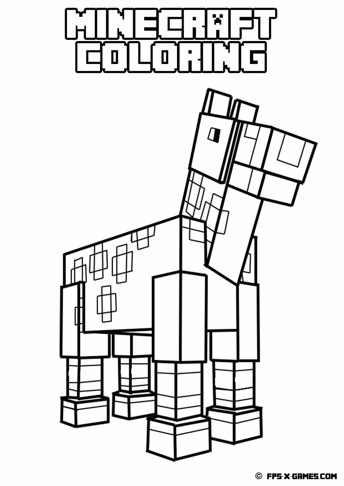 coloring minecraft pages minecraft coloring pages best coloring pages for kids coloring minecraft pages