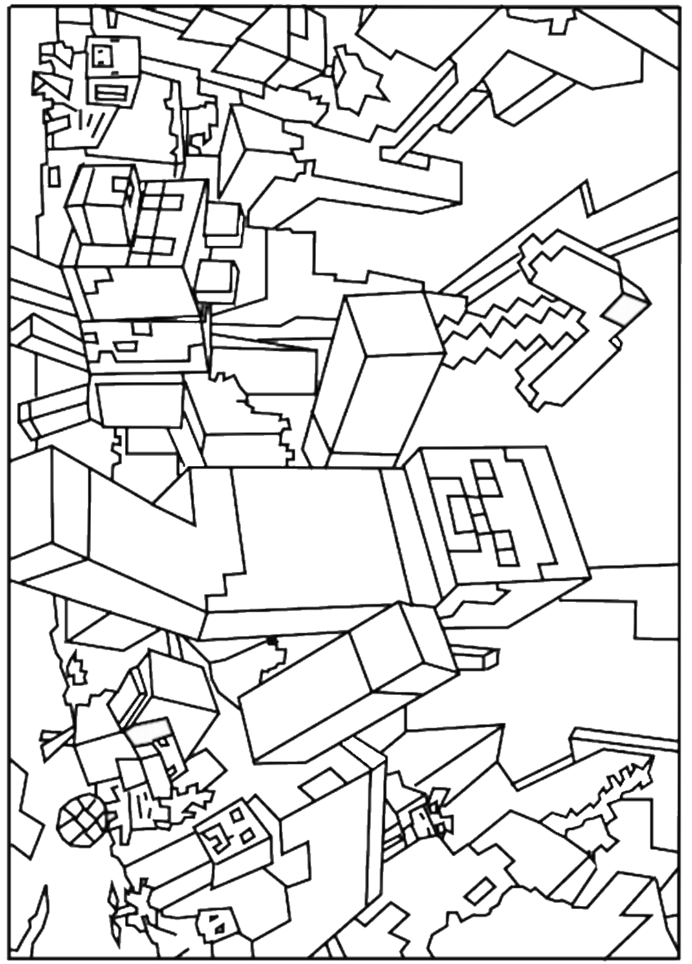 coloring minecraft worksheets 13 coloring pages of minecraft print color craft minecraft worksheets coloring