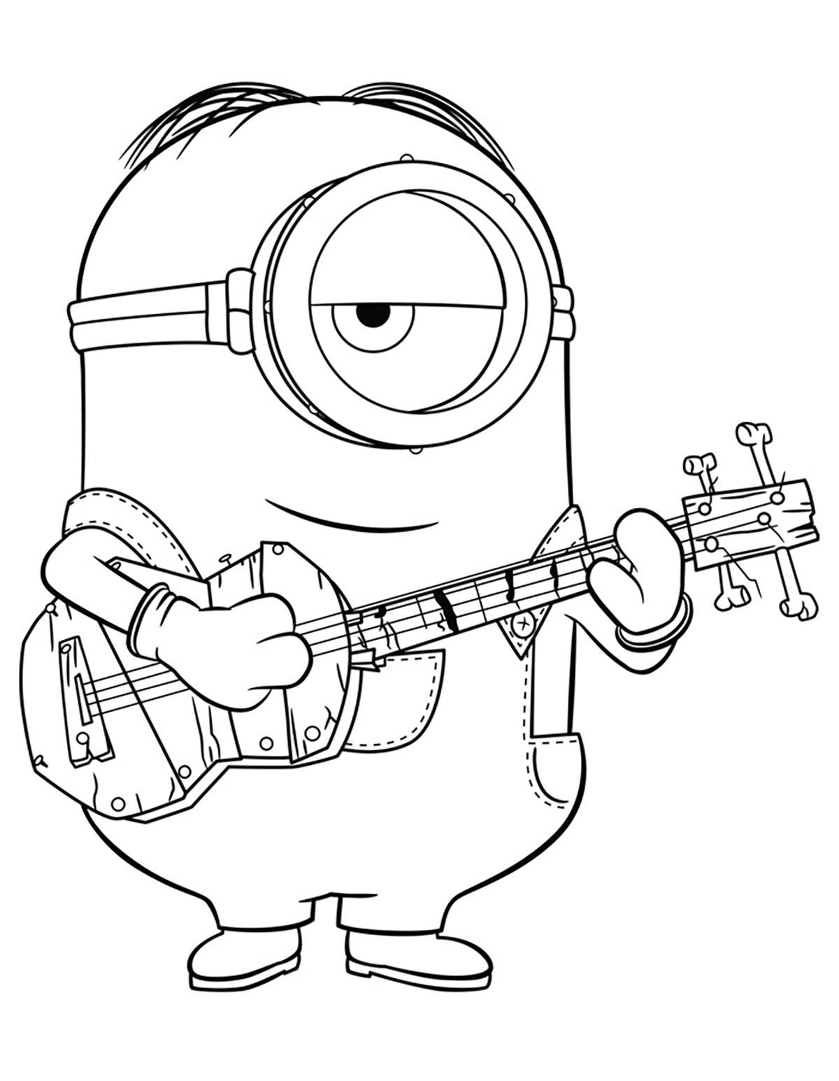 coloring minion pages despicable me 2 minions party time coloring page coloring minion pages
