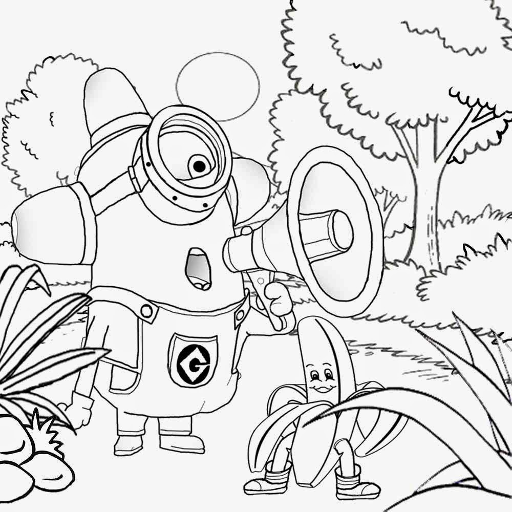coloring minion pages free coloring pages printable pictures to color kids coloring minion pages