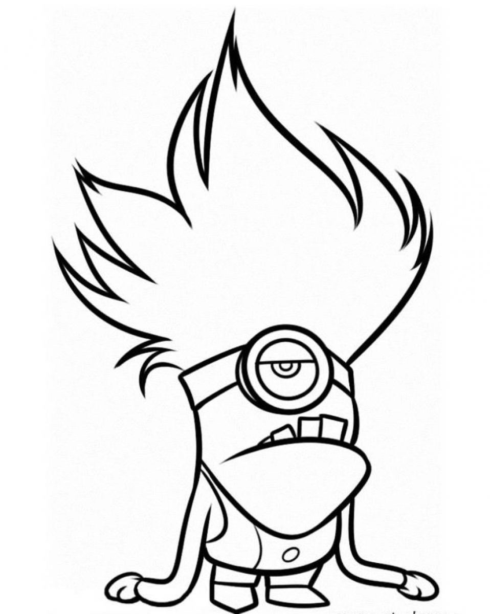 coloring minion pages minion coloring pages best coloring pages for kids coloring pages minion 1 2